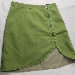 Levis silvertab Jean skirt
